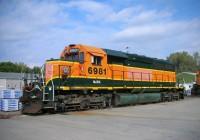 SD40-2 #6981